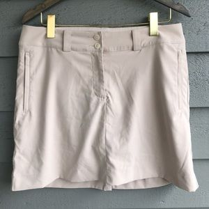 Nike Golf Tan Skirt with Shorts 8